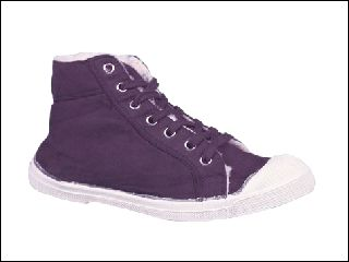 BENSIMON TENNIS MID FOURREE PRUNE