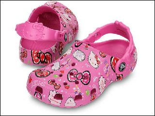 CROCS HELLO KITTY<br>FUSCHIA