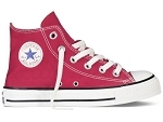 PAPCHEQUE 10  € CHUCK TAYLOR ALL STAR HI:Toile/ROUGE/./.