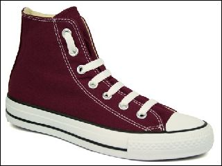 CONVERSE CHUCK TAYLOR ALL STAR HI<br>BORDEAUX