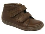 4662 WOODY VELCRO:CUIR/MARRON/./.