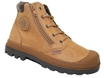 PALLADIUM HI CUFF WATERPROOF<br>CHOCOLAT