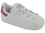FOXY STAN SMITH CRIB:CUIR/BLANC/ROSE/.