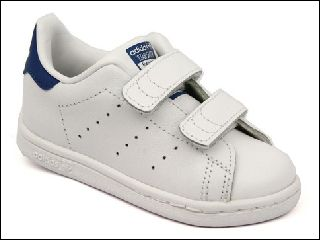 2679 STAN SMITH:CUIR/BLANC/BLEU/.