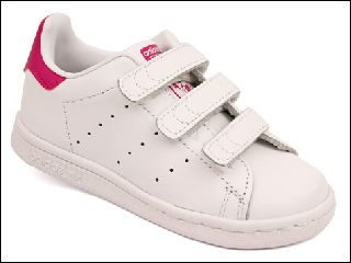 ZOELA STAN SMITH:CUIR/BLANC/ROSE/.