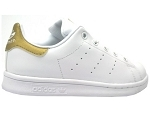 PW TENNIS HU J STAN SMITH:CUIR/BLANC/OR/.