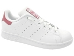 ANDIE STAN SMITH:CUIR/BLANC/ROSE/.