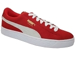PUMA SUEDE JR<br>ROUGE