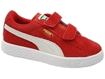 PUMA SUEDE 2 VELCROS<br>ROUGE