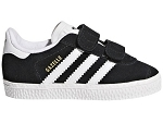 SWIFT RUN GAZELLE VELCRO:CUIR/NOIR/./.