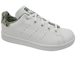GAZELLE STAN SMITH:CUIR/BLANC/ZEBRE/.