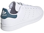 SUPERSTAR STAN SMITH:CUIR/BLANC/OCEAN/.