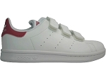 CONTINENTAL 80 STAN SMITH:CUIR/BLANC/ROSE/.