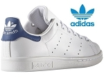 ACINTA STAN SMITH:CUIR/BLANC/MARINE/.