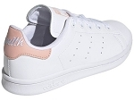 21355 STAN SMITH:CUIR/BLANC/BROD ROSE/.