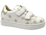 SUPERSTAR 3142:CUIR/BLANC/OR/.