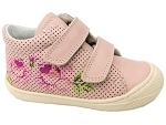 54838 COCOON CALLY VELCRO:CUIR/ROSE/./.