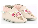 ROBEEZ ICE FLOWERS<br>BEIGE