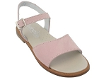CLOUD  VELCRO 21902:cuir VELOURS/ROSE/./.