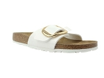 BIRKENSTOCK MADRID BIG BUCKLE BLANC