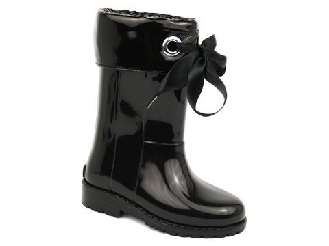 bottes de pluie et neige babybotte xerise noir. Black Bedroom Furniture Sets. Home Design Ideas