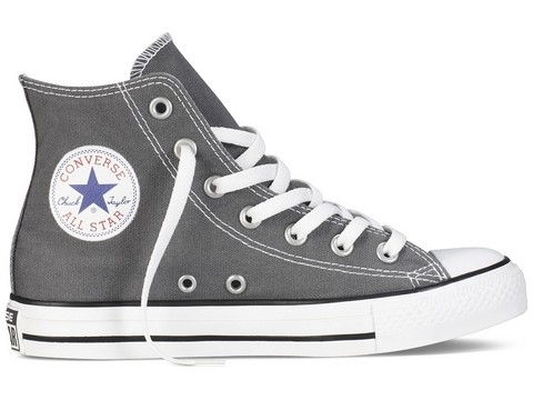 Chaussures De Tennis Converse Chuck Taylor All Star Hi Gris