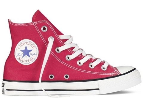 Converse chuck taylor all star hi rouge