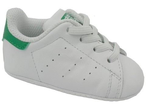 Adidas stan smith crib blanc