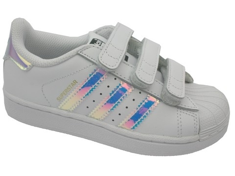 Adidas superstar metal blanc