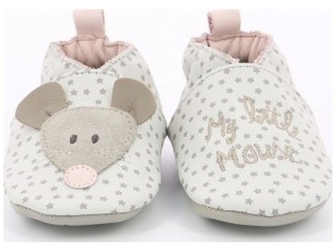 Robeez little mouse beige