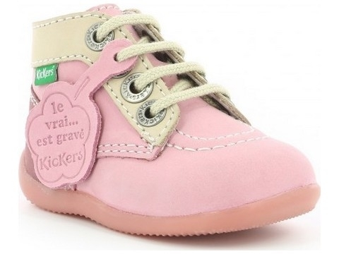 Kickers bonbon 2 rose