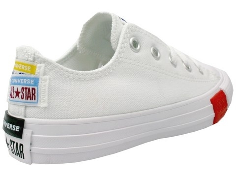 Converse all star ox ev blanc